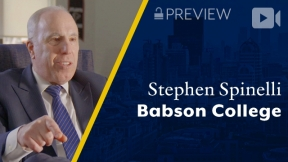 Preview: Babson College, Stephen Spinelli, CEO