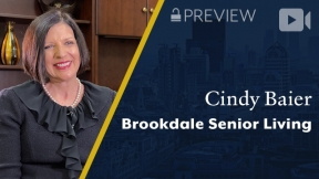 Preview: Brookdale Senior Living, Cindy Baier, President & CEO