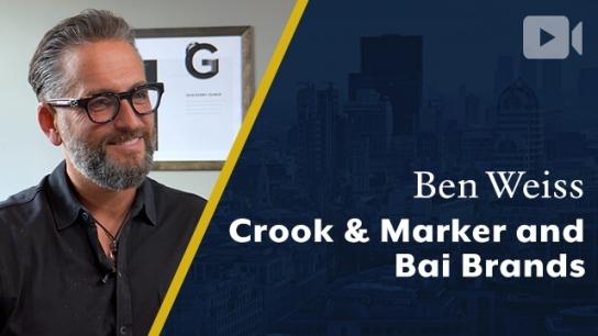 Crook & Marker and Bai Brands, Ben Weiss, Founder & CEO