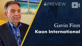 Preview: Kaon International, Gavin Finn, CEO