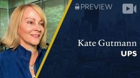 Preview: UPS Global Healthcare, Kate Gutmann, President