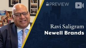 Preview: Newell Brands, Ravi Saligram, President & CEO