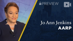 Preview: AARP, Jo Ann Jenkins, CEO