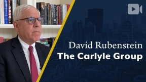 The Carlyle Group, David Rubenstein, Co-Founder & Co-Chairman