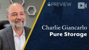 Preview: Pure Storage, Charlie Giancarlo, Chairman & CEO