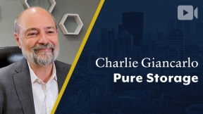 Pure Storage, Charlie Giancarlo, Chairman & CEO