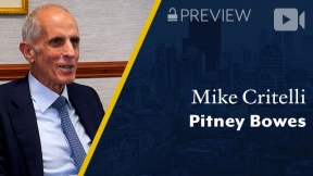 Preview: Pitney Bowes, Mike Critelli, Former Chairman & CEO