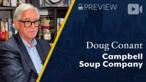 Preview: Campbell Soup Company, Doug Conant, Former CEO