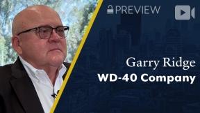 Preview: WD-40 Company, Garry Ridge, Chairman & CEO