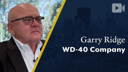 WD-40 Company, Garry Ridge, Chairman & CEO