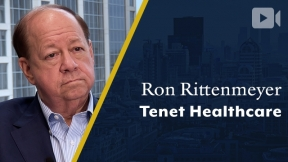 Tenet Healthcare, Ron Rittenmeyer, Executive Chairman