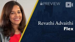 Preview: Flex, Revathi Advaithi, CEO