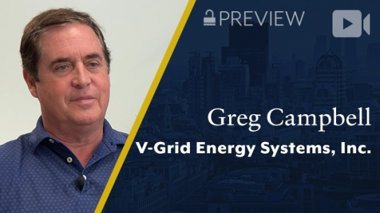Preview: V-Grid Energy Systems, Inc., Greg Campbell, CEO