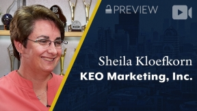 Preview: KEO Marketing, Inc., Sheila Kloefkorn, President and CEO